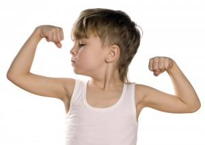 Developing children's muscles