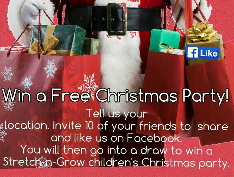 Win a Christmas Party!
