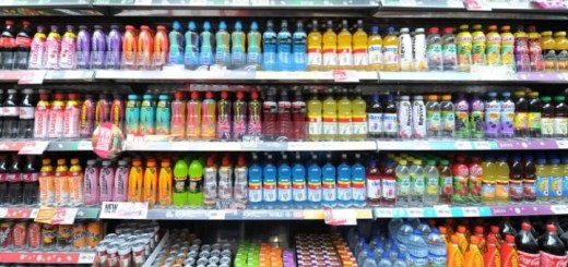 Sugar content in fizzy drinks