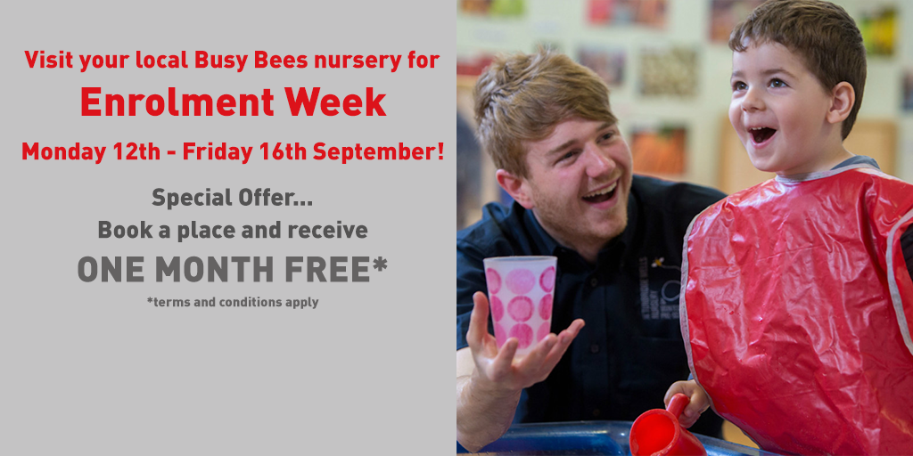 Enrolment Week at Busy Bees