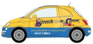 Stretch-n-Grow your business with this mobile promotion.